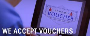 We Accept Vouchers