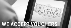We Accept Vouchers